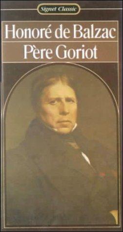 Pere Goriot (0808509500) by Honore de Balzac