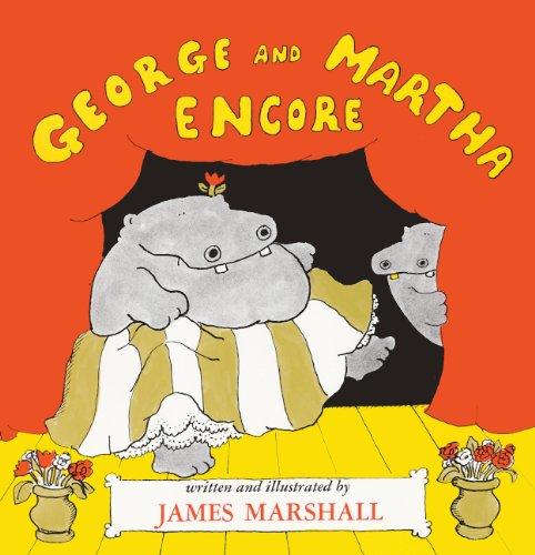 George And Martha Encore (Turtleback School & Library Binding Edition): Marshall, James