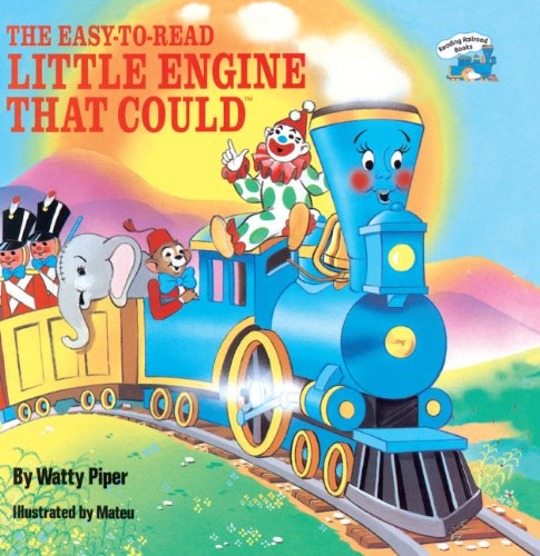 9780808527428: The Easy-To-Read Little Engine That Could (Turtleback School & Library Binding Edition) (All Aboard Books (Pb))