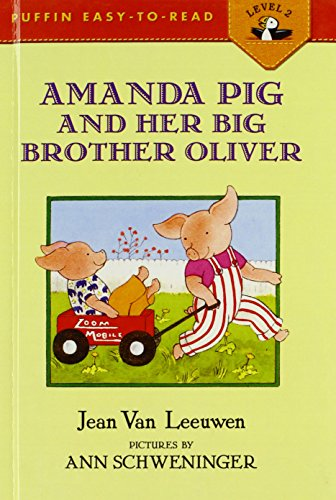 9780808531050: Amanda Pig and Her Big Brother Oliver (Puffin Easy-To-Read)