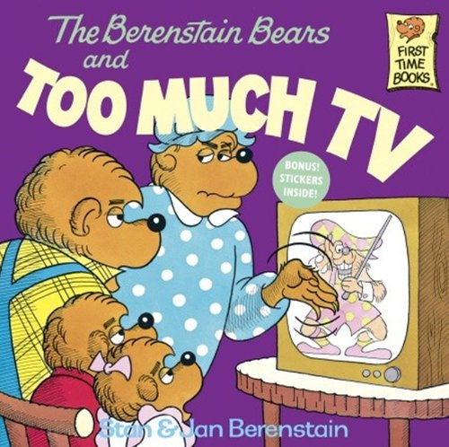 9780808531685: The Berenstain Bears And Too Much TV (Turtleback School & Library Binding Edition) (First Time Books)