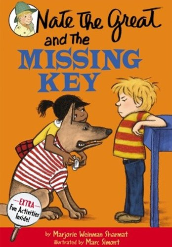 9780808537526: Nate The Great And The Missing Key (Turtleback School & Library Binding Edition) (Nate the Great Detective Stories)