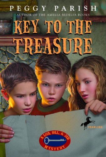Key To The Treasure (Turtleback School & Library Binding Edition) (Liza, Bill & Jed Mysteries) (0808543075) by Parish, Peggy