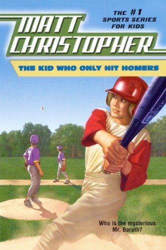 The Kid Who Only Hit Homers (Turtleback: Matt Christopher; Illustrator-Harvey