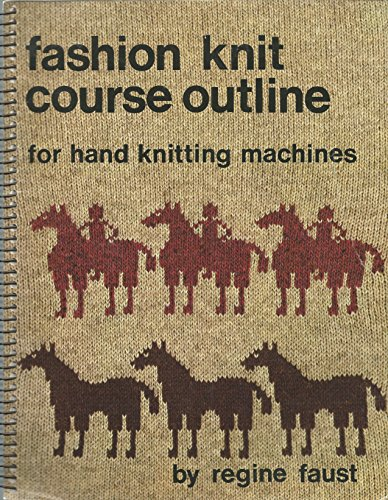 9780808706472: Fashion knit course outline for hand knitting machines