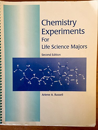 9780808725176: Chemistry experiments for life science majors