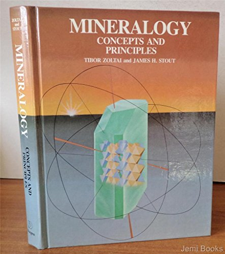 Mineralogy: Concepts and principles: Zoltai, Tibor