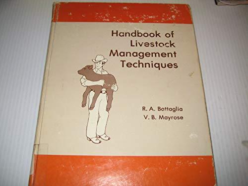 9780808729570: Handbook of livestock management techniques