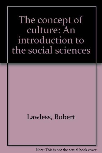 9780808738145: The Concept of Culture: An Introduction to the Social Sciences