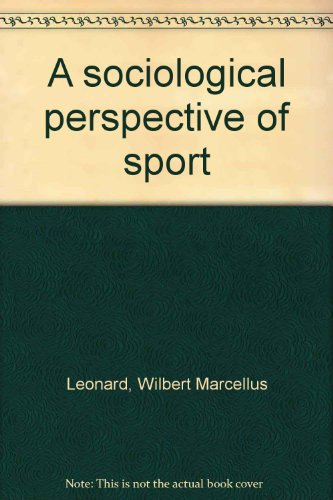 9780808738633: A sociological perspective of sport