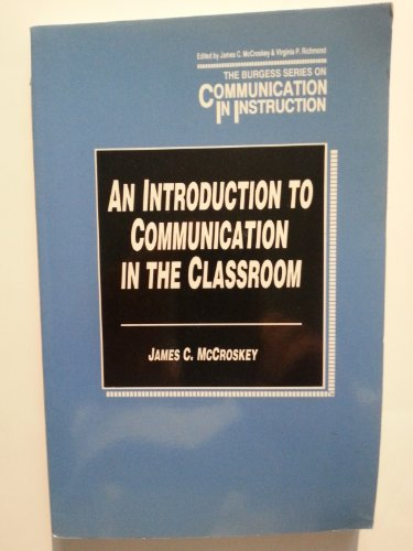 9780808776369: Introduction to Communication in the Classroom