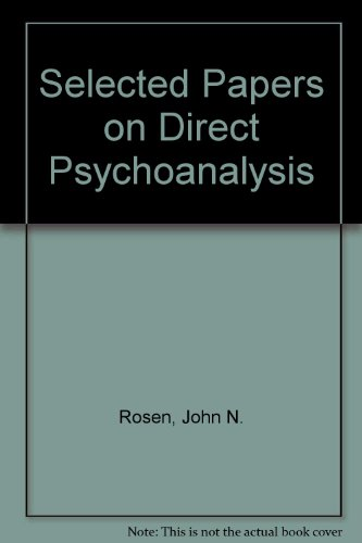 9780808903871: Selected Papers on Direct Psychoanalysis: v. 2