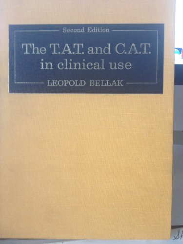 9780808906759: T. A. T. and C.A.T. in Clinical Use