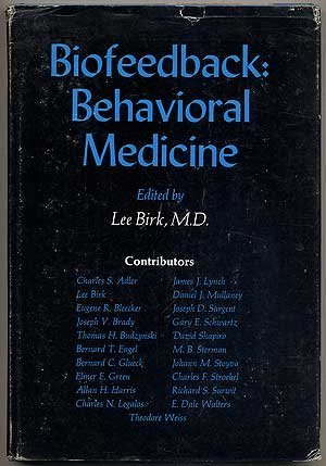 9780808908326: Biofeedback: Behavioural Medicine