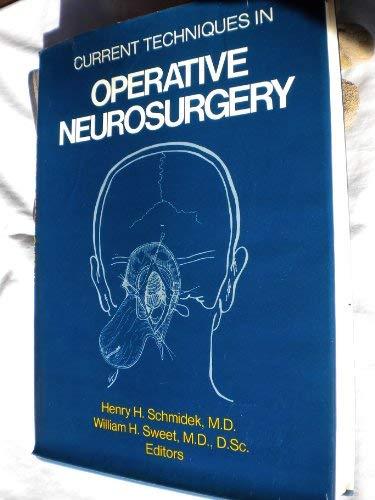 9780808910268: Current Techniques in Operative Neurosurgery