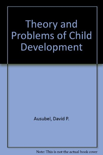 9780808911838: Theory and Problems of Child Development