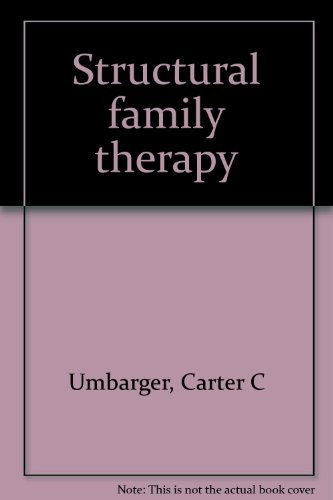 9780808915683: Structural Family Therapy
