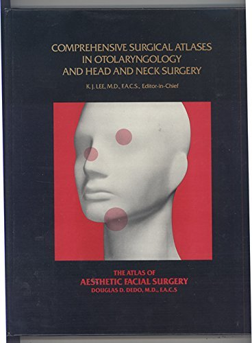 9780808916161: Atlas of Aesthetic Facial Surgery (Comprehensive surgical atlases in otolaryngology and head and neck surgery)