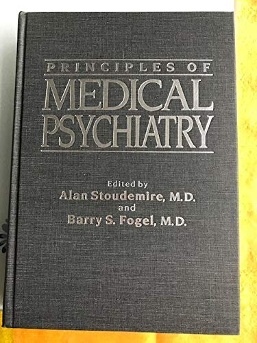 9780808918837: Stoudemire Prin Medical Psychaty