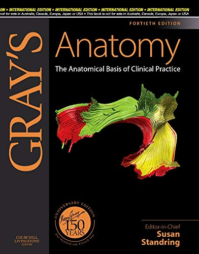 9780808923718: Gray's Anatomy, The Anatomical Basis of Clinical Practice, Expert Consult - Online and Print, 40th Edition