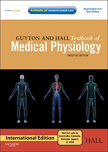9780808924005: [(Guyton and Hall Textbook of Medical Physiology: International Edition)] [Author: John E. Hall] published on (July, 2010)