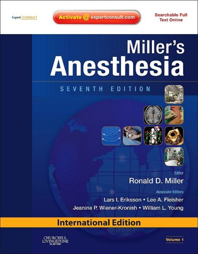 9780808924135: Miller´s Anesthesia: International Edition 2 Vol´s