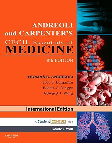 ANDREOLI AND CARPENTERS CECIL ESSENTIALS OF MEDICINE 8/ED.: ANDREOLI,T.E.