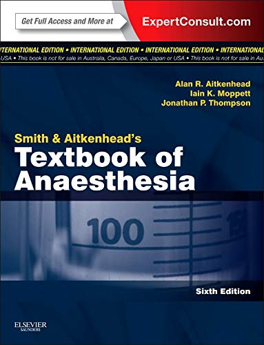 9780808924296: Smith and Aitkenhead's Textbook of Anaesthesia