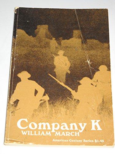 9780809000098: Company K (American Century Series)