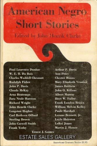 American Negro Short Stories: Clarke, John Henrik