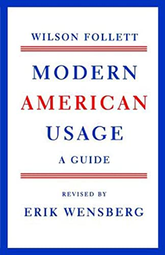 9780809001392: Modern American Usage: A Guide