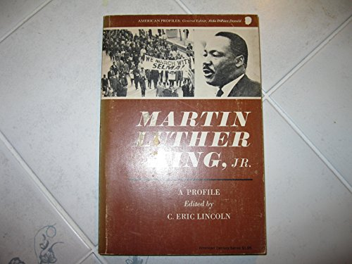 9780809002092: Martin Luther King, Jr.;: A profile, (American profiles)