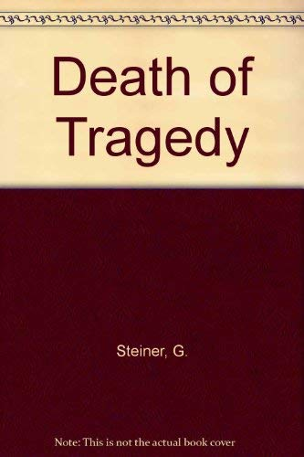 9780809005352: Death of Tragedy