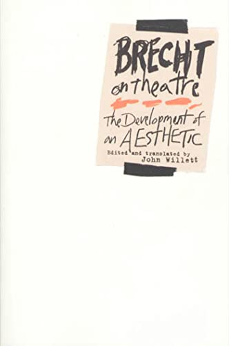 9780809005420: Brecht on Theatre: The Development of an Aesthetic