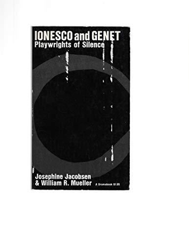 9780809005444: Ionesco and Genet : Playwrights of Silence