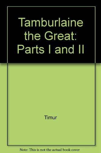 9780809011193: Tamburlaine the Great: Parts I and II (Mermaid Dramabook)