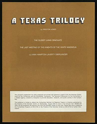 9780809012367: A Texas Trilogy (Mermaid Dramabook)