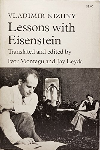 9780809013500: Lessons With Eisenstein
