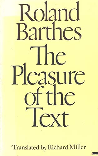 9780809013807: The Pleasure of the Text