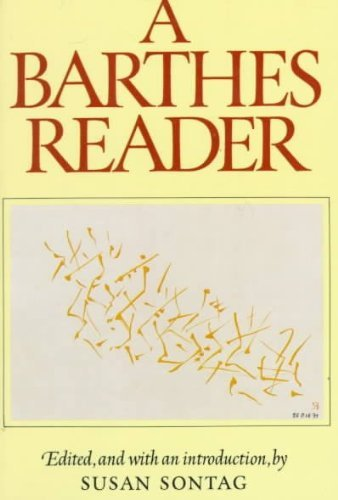 9780809013944: A Barthes Reader Edition: Reprint