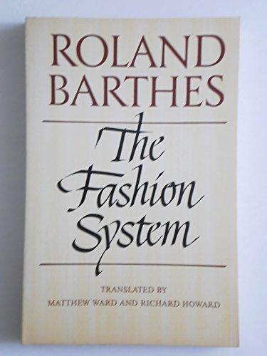 9780809015030: Fashion System