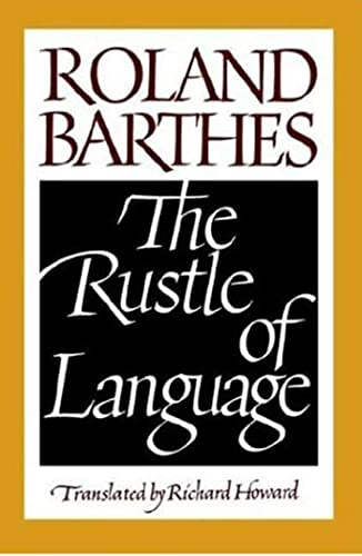 9780809015276: The Rustle of Language