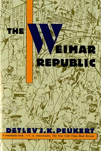 9780809015566: The Weimar Republic