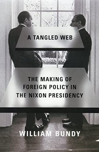 9780809016242: A Tangled Web: The Making of Foreign Policy in the Nixon Presidency