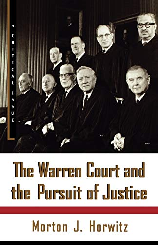 9780809016259: The Warren Court and the Pursuit of Justice