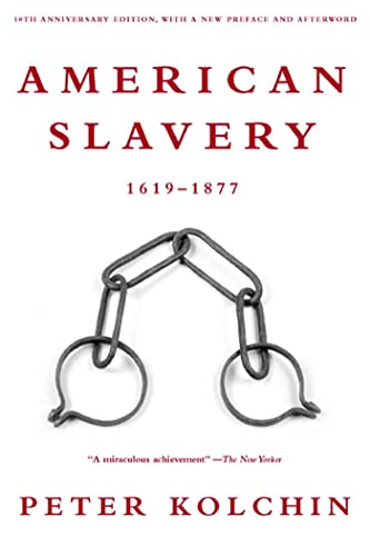 9780809016303: American Slavery: 1619-1877