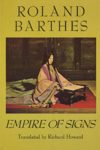9780809020133: Empire of Signs