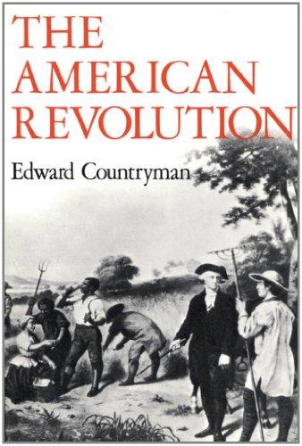 9780809025633: The American Revolution