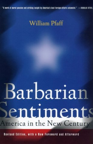 9780809028061: Barbarian Sentiments: America in the New Century