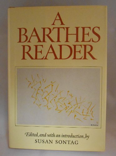 9780809028153: A Barthes reader